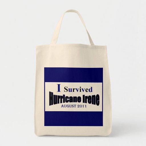 Hurricane Irene Survivor Bag