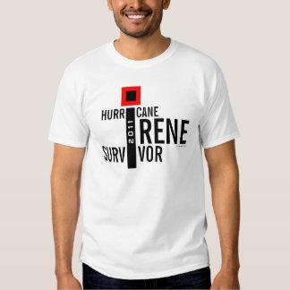 Hurricane Irene Survivor Flag T-Shirt 12