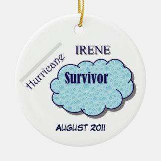 Hurricane Irene Survivor Ornament