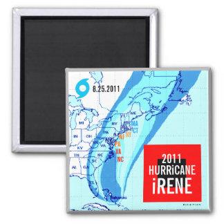 Hurricane Irene Track Magnet 2