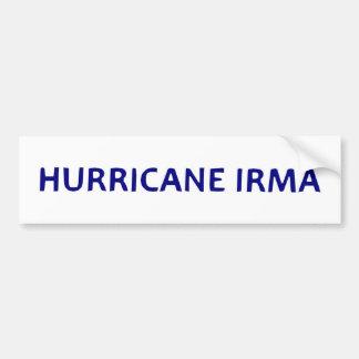 Hurricane Irma Bumper Sticker Decal