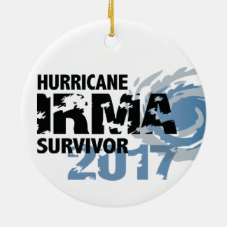 Hurricane Irma Survivor Florida 2017 Ceramic Ornament