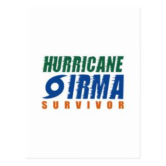 Hurricane Irma Survivor Postcard