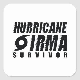 Hurricane Irma Survivor Square Sticker