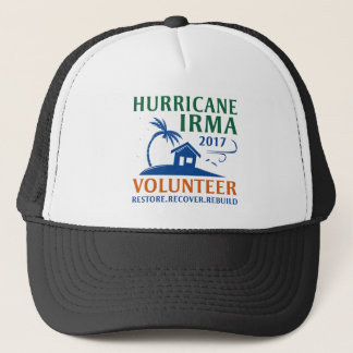Hurricane Irma Volunteer Trucker Hat