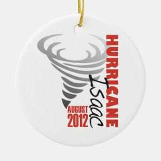 Hurricane Isaac Survivor Ceramic Ornament