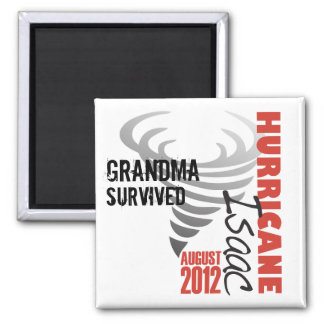Hurricane Isaac Survivor Customizable Magnet