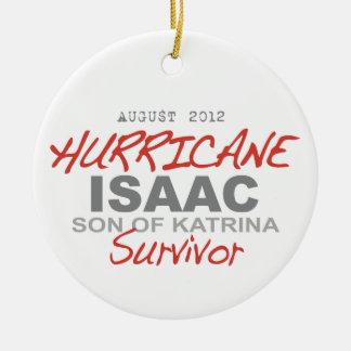Hurricane Isaac Survivor Ornaments