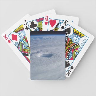 Hurricane Isabel from Space Bicycle Playing Cards