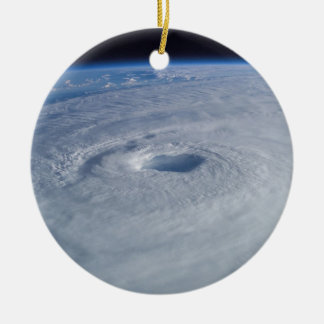 Hurricane Isabel from Space Ceramic Ornament