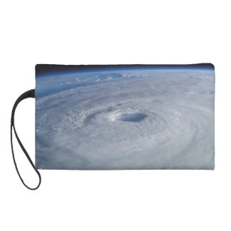 Hurricane Isabel from Space Wristlet Purse