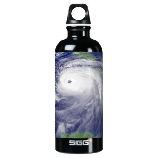 Hurricane Ivan in the Gulf of Mexico Aluminum Water Bottle