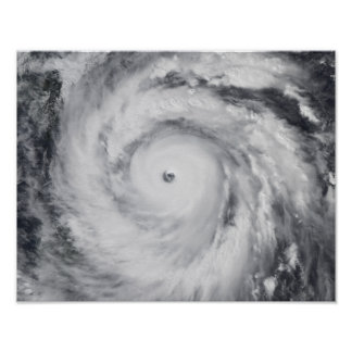 Hurricane Jangmi Poster