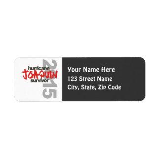 Hurricane Joaquin 2015 Label