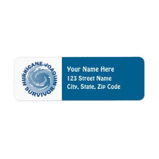 Hurricane Joaquin Survivor Label
