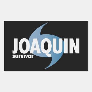 Hurricane Joaquin Survivor Rectangular Sticker