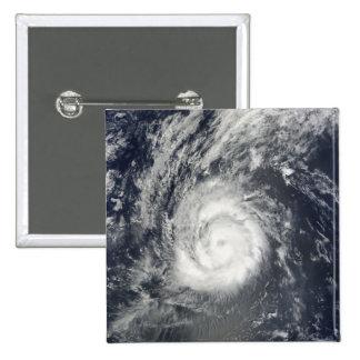 Hurricane Julia 2 Inch Square Button
