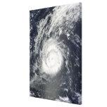 Hurricane Julia Stretched Canvas Print