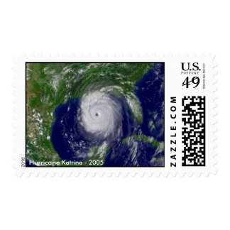 Hurricane Katrina in the Gulf of Mexico Postage Stamp