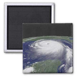 Hurricane Katrina Satellite image 2 Inch Square Magnet
