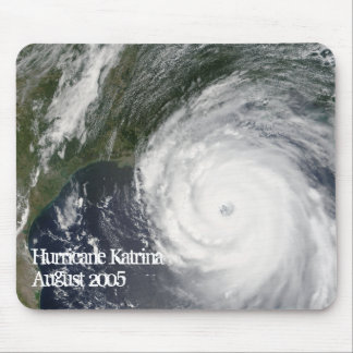 Hurricane Katrina Satellite Image, August 2005 Mouse Pad