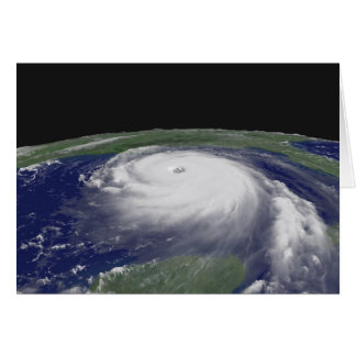 Hurricane Katrina Satellite image Card