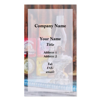 Hurricane Lamp and Scale Double-Sided Standard Business Cards (Pack Of 100)