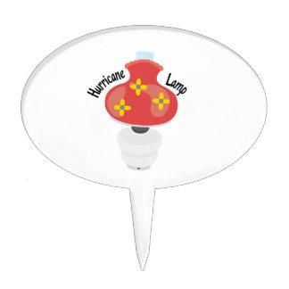 Hurricane Lamp Cake Topper