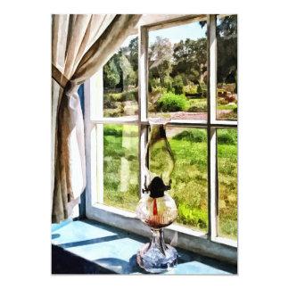 Hurricane Lamp in a Sunny Window Card