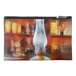 Hurricane Lamp in General Store Travel Accessory Bag