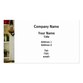Hurricane Lamp in Pantry Double-Sided Standard Business Cards (Pack Of 100)