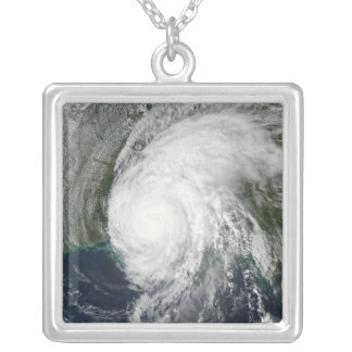 Hurricane Lili 3 Silver Plated Necklace