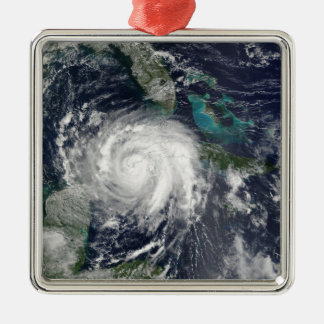 Hurricane Lili 4 Metal Ornament