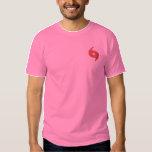 Hurricane Logo Embroidered T-Shirt