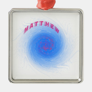 Hurricane Matthew Metal Ornament