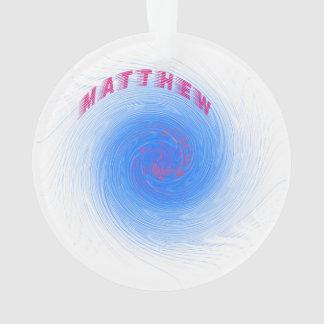Hurricane Matthew Ornament