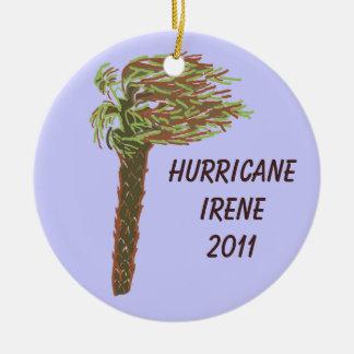 Hurricane Memorial Ornament - Blue - Customize!