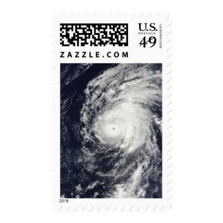 Hurricane Neki west of Hawaii Stamp