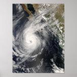 Hurricane Norbert off Mexico 2 Poster