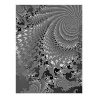 Hurricane of Grey Lace Poster