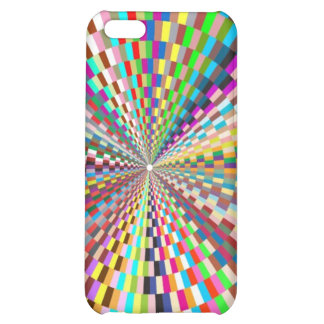 Hurricane of squares cases case for iPhone 5C