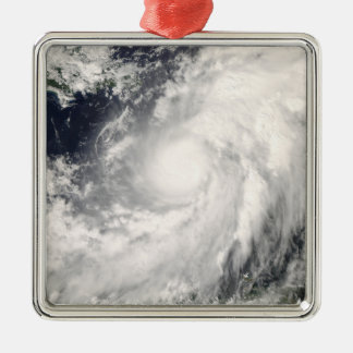 Hurricane Omar Metal Ornament