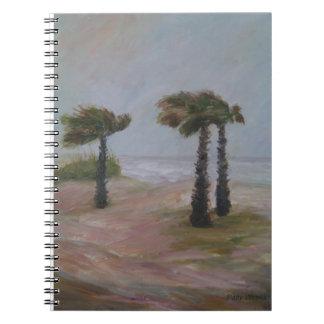 HURRICANE PALMS Photo Notebook