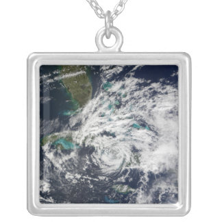 Hurricane Paloma 2 Silver Plated Necklace