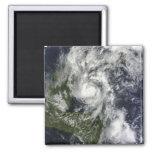 Hurricane Paula 2 Inch Square Magnet