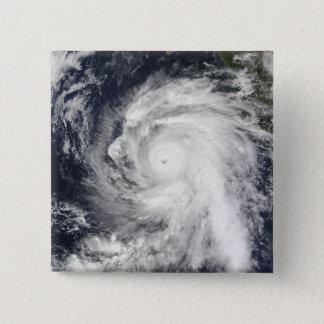 Hurricane Rick southwest of Baja California Pinback Button