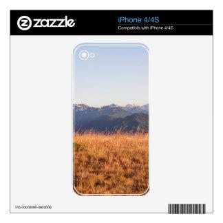 Hurricane Ridge Olympic National Park Gift Skin For iPhone 4