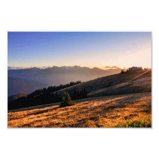 Hurricane Ridge - Olympic National Park Photographic Print