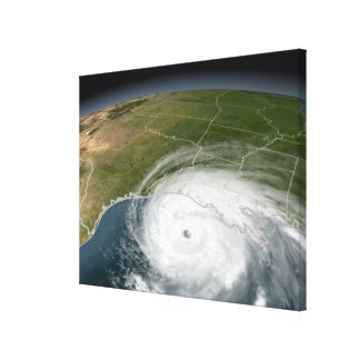 Hurricane Rita 2 Canvas Print
