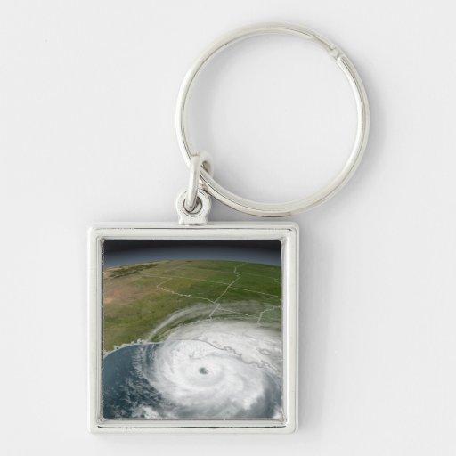Hurricane Rita 2 Keychain